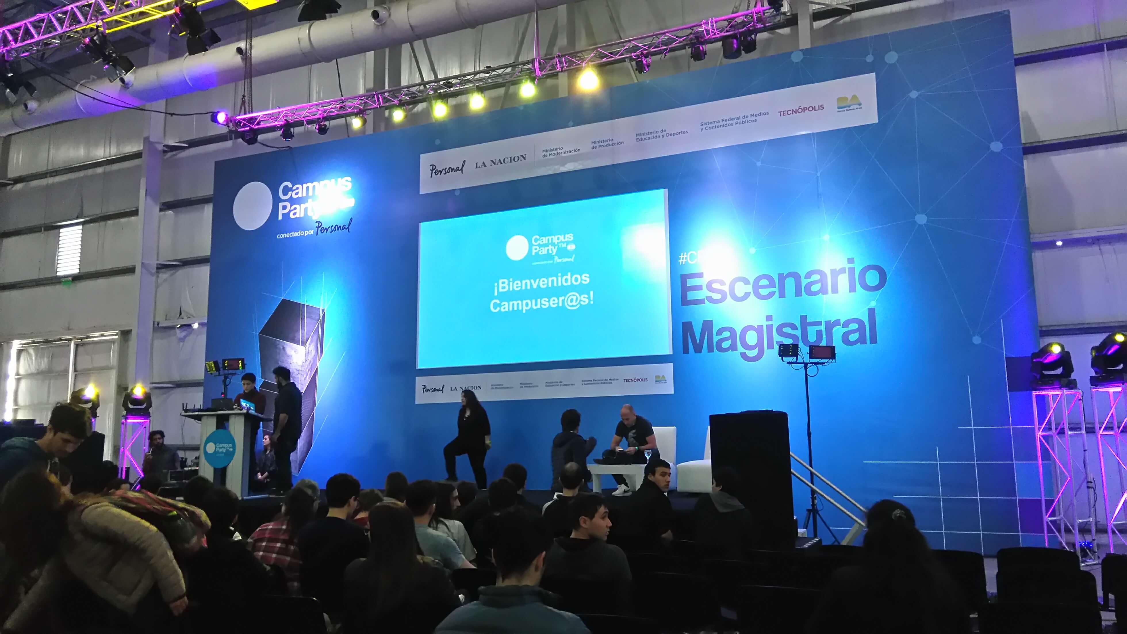 Nuestro paso por Campus Party Argentina