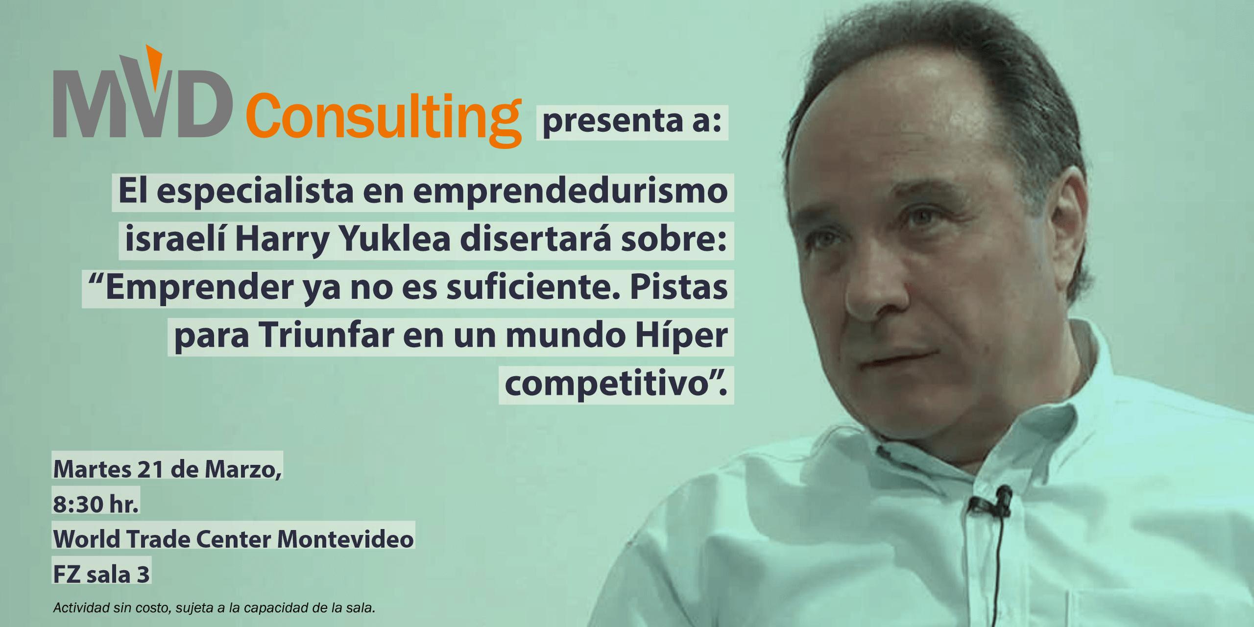 Harry Yuklea diserta para clientes de MVD Consulting