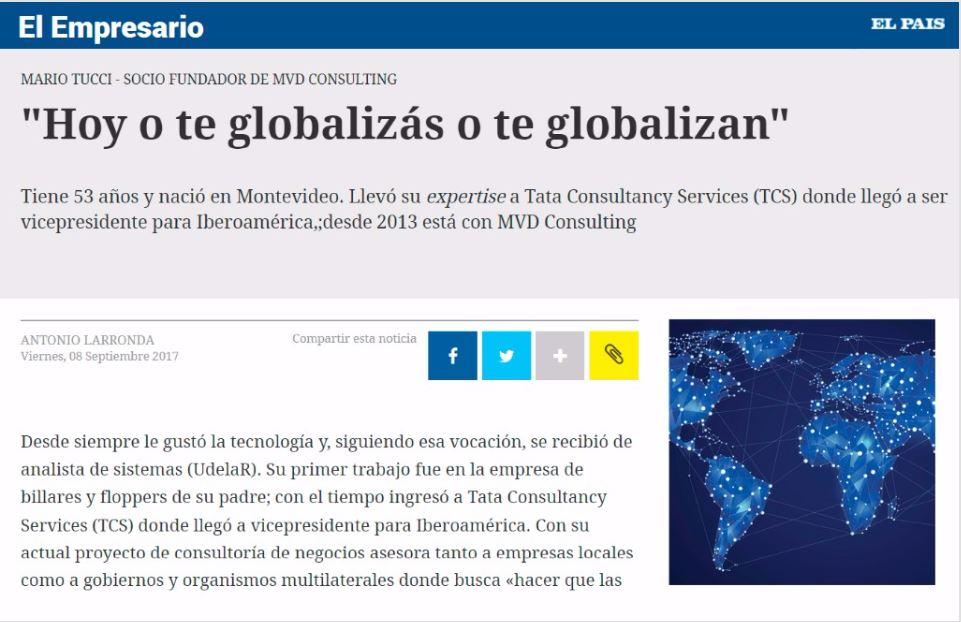 O te Globalizas o te Globalizan – Nuestra presencia en prensa